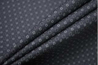 Хлопок темно-серый в квадратик FRM-G6 27022133