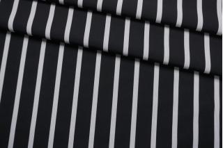Хлопок рубашечный черно-серая полоска FRM-A70 27022136