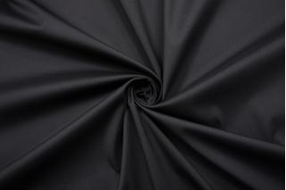 Хлопок-стрейч рубашечно-плательный черный FRM.H-F4 27022144