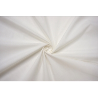 ОТРЕЗ 1,3 М Хлопок тонкий рубашечный молочно-белый FRM-(43)- 27022165-2