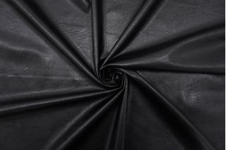 Экокожа на вискозе черная FRM-F50 02062101