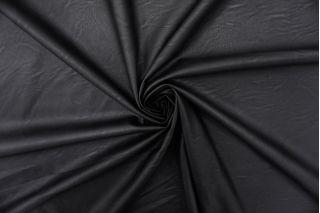 Экокожа на вискозе черная FRM-F50 02062102