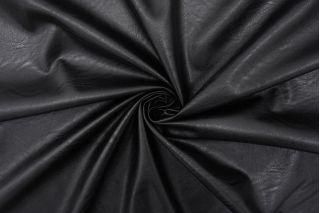 Экокожа на вискозе черная FRM-F50 02062103