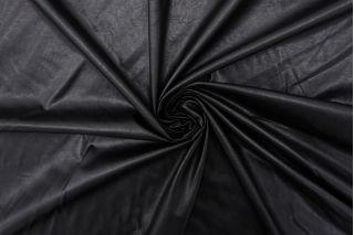 Экокожа тонкая на вискозе черная FRM-F50 02062104