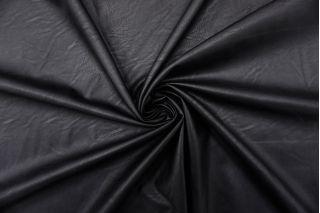 Экокожа на вискозе черная FRM-F50 02062105