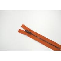 """Молния металлическая """"Lampo""""оранжевая 16 см B8 02072149"""