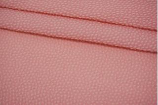 Двуслойная фактурная шелковая органза розовая PRT-M60 03052101