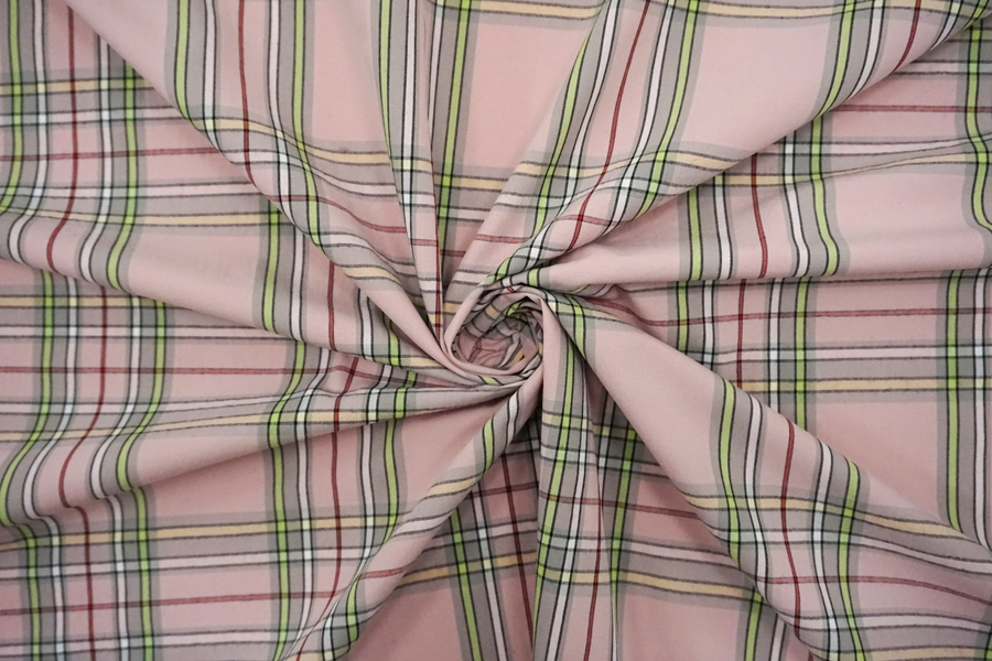 Поплин рубашечный в клетку BRS-B50- 05062124