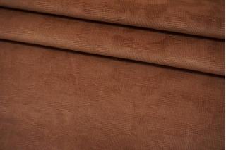 Костюмно-плательный велюр светло-коричневый BRS-K70 05062137