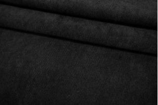 Рубашечный велюр стрейч черный BRS-K50 05062138