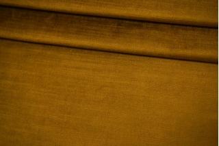Костюмно-плательный велюр горчичный BRS-K70 05062139
