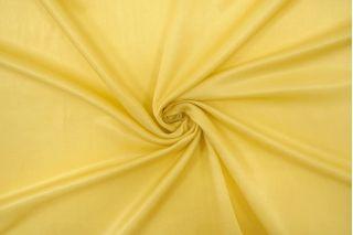 Тонкий блузочный сатин хлопок с шелком желтый BRS-N50 05062148