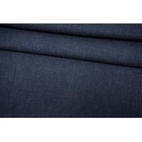 Хлопок-стрейч рубашечно-плательный темно-синий BRS-B10- 05062156
