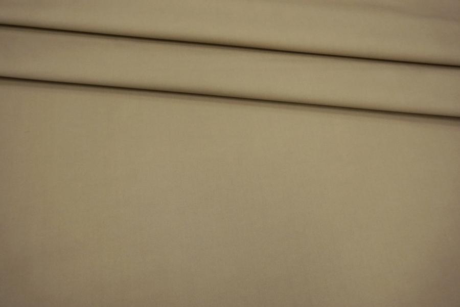 """ОТРЕЗ 1,6 М Хлопок """"Burberry"""" водоотталкивающий песочный BRS-(40)- 05062162-1"""