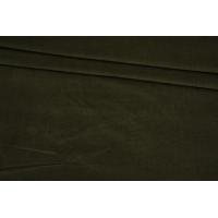 ОТРЕЗ 1,2 М Микровельвет стрейч плательно-рубашечный хаки BRS-(16)- 05062167-1