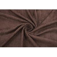 Вельвет хлопковый коричневый BSR 05062172