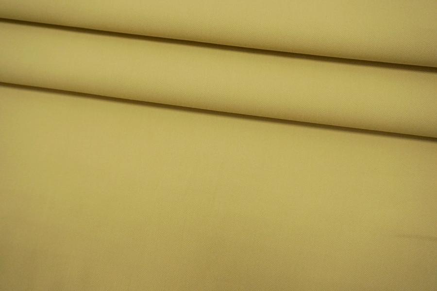 ОТРЕЗ 1,4 М Хлопок-стрейч светло-горчичный BRS-(21)- 05062184-1