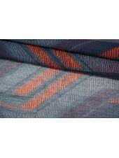 Батист шелковый с хлопком синий BRS 06062106