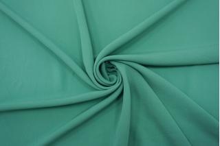 Креп тонкий шелковый бирюзово-мятный TRC-N50 07072102