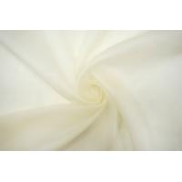 ОТРЕЗ 2,6 М Шелковая органза молочная TRC-(33)- 07072105-1