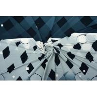 Трикотаж вискозный купон геометрия TRC-X20 07072112