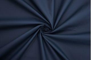 Плащевая ткань матовая на хлопке темно-синяя NST-U50 08062102