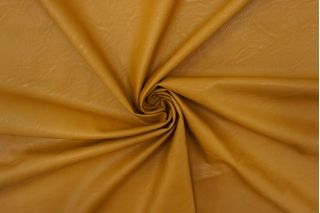 Экокожа на вискозе горчичная охра NST-U50 08062119