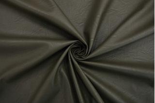 Экокожа на вискозе зеленый хаки NST-F70 08062124