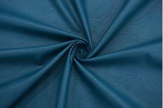 Экокожа на вискозе бирюзово-синяя NST-F60 08062127