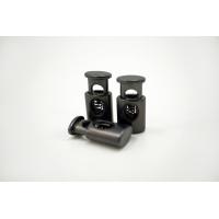 Фиксатор для шнурка металл темный никель 10072101