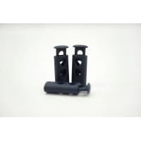 Фиксатор для шнурка пластик матовый темно-синий 10072115