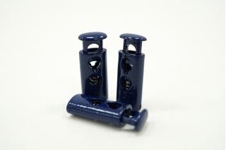 Фиксатор для шнурка пластик глянцевый синий 10072119