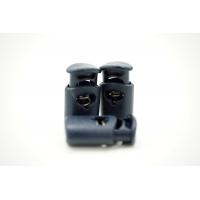 Фиксатор для шнурка пластик темно-синий 10072124
