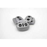 Фиксатор для шнурка пластик серый 10072126