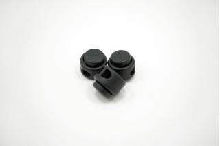 Фиксатор для шнурка пластик черный 10072135