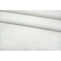 ОТРЕЗ 2,95 М Костюмно-рубашечная рогожка хлопковая белая TRC-(50)- 12072102-1
