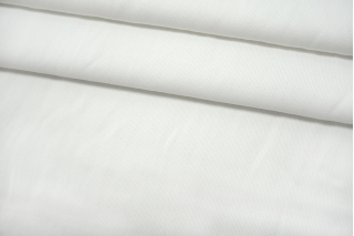 Костюмно-рубашечная рогожка хлопковая белая TRC-C20 12072102
