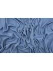 ОТРЕЗ 0,9 М Трикотаж-рибана хлопковый тонкий Louis Vuitton приглушенно-голубой TRC-(23)- 12072106-1