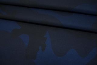 Курточная ткань синий камуфляж TRC-F20 12072112
