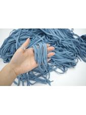 Шнурок Simonetta пыльно-голубой 95 см 16072209