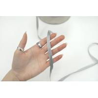 Тесьма брючная серебристая 1 см 17072107 LA-30