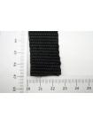 Ременная лента 2,5 см черная 17072110