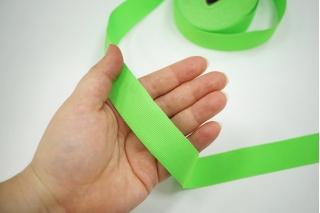 Лента репсовая ярко-зеленая 17072115 SH-B50