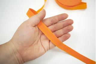 Лента репсовая оранжевая 1,5 см 17072123 SH-B50