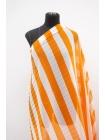 Плиссе в полоску бело-оранжевая полоска TRC-J20 30052118