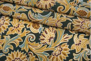 Крепдешин тонкий цветы Max Mara TXT-M50 30052132