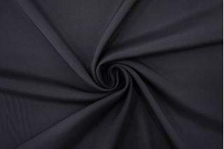 Кади-стрейч шелковая черная FRM 30052134