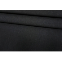 Костюмно-плательная поливискоза черная BT-G10 9080959