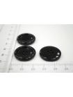 Пуговица костюмно-плательная пластик черная 23 мм PRT-j 02092111