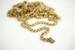 Декоративная цепочка золотистая 0,5 см NN01 02092113